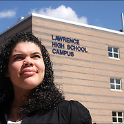 """I compare myself to a turtle"" says Arquianys Martinez, 15. She will receive her high school diploma from Lawrence High School on June7/2009. Arguianys, originally from Dominican Republic came to US when she was 8 years old. She managed to learned English while enrolled in several after-school programs."