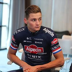 03-01-2020: Wielrennen: Teampresentatie Corendon: Amsterdam <br />Mathieu van der Poel