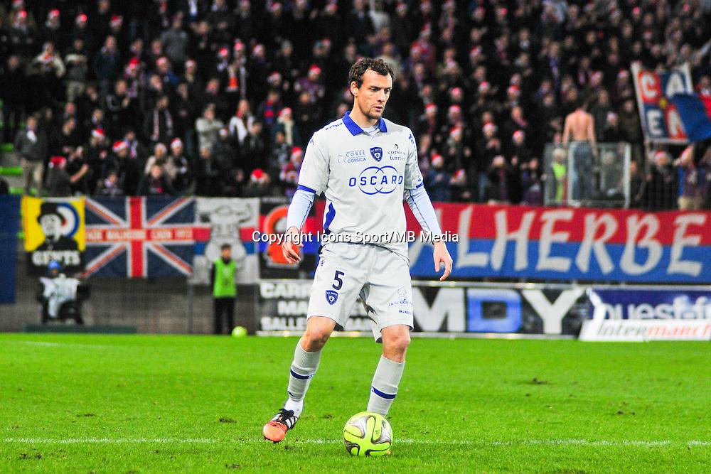 Sebastien Squillaci - 20.12.2014 - Caen / Bastia - 19eme journee de Ligue 1 <br /> Photo : Philippe Le Brech / Icon Sport