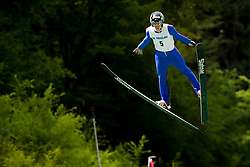 Zak Mogel of Slovenia during Ski Jumping Continental Cup 2018, on July 8, 2018 in Kranj, Slovenia. Photo by Urban Urbanc / Sportida