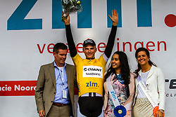 Race leader MArcel KITTEL (GER, GIA) Stage 3 Buchten - Buchten, Ster ZLM Toer, Buchten, The Netherlands, 20th June 2014, Photo by Thomas van Bracht / Peloton Photos