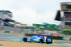 June 15, 2018 - Le Mans, Sarthe, France - Algarve PRO Racing LIGIER JSP217 Gibson Driver TACKSUNG KIM (KOR) in action during the 86th edition of the 24 hours of Le Mans 2nd round of the FIA World Endurance Championship at the Sarthe circuit at Le Mans - France. (Credit Image: © Pierre Stevenin via ZUMA Wire)
