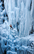 Ouray Ice Park in Ouray, Colorado