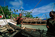 Kitava Island, The Trobriands, Papua New Guinea (editorial use only)<br />