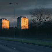 Millbrae flats, Coatbridge