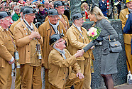 King Willem-Alexander and Queen Maxima visit mine region Limburg
