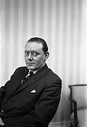 15/02/1963<br /> 02/15/1963<br /> 15 February 1963<br /> Gaeltarra Eireann officials for Fairchild Publications, London. John Stanners, Tweed designer.