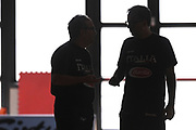 Mario Fioretti, Stefano Sacripanti<br /> Raduno Nazionale Maschile Senior<br /> Raduno Giorno 2<br /> Folgaria 23/07/2017<br /> Foto Ciamillo-Castoria/ G. Ciamillo