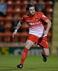 Leyton Orient's Romain Vincelot - Photo mandatory by-line: Mitchell Gunn/JMP - Tel: Mobile: 07966 386802 08/10/2013 - SPORT - FOOTBALL - Brisbane Road - Leyton - Leyton Orient V Coventry City - Johnstone Paint Trophy