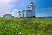 Grand Passage Lighthouse on Bay of Fundy<br />