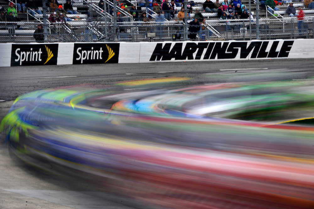 28-30 March, 2014, Martinsville, Virginia USA<br /> Martinsville signage speed blur<br /> &copy;2014 Scott R LePage <br /> LAT Photo USA