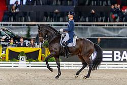 MINDERHOUD Hans-Peter (NED), Glock´s Casper<br /> Stuttgart - German Masters 2019<br /> GERMAN DRESSAGE MASTER<br /> Grand Prix Special<br /> 17. November 2019<br /> © www.sportfotos-lafrentz.de/Stefan Lafrentz