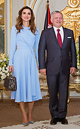 Queen Rania & King Abdullah Visit Tunisia