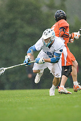 05 April 2008: North Carolina Tar Heels midfielder Michael J. Burns (26) during a 11-12 OT loss to the Virginia Cavaliers on Fetzer Field in Chapel Hill, NC.