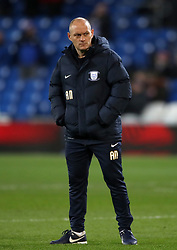 "Preston North End manager Alex Neil during the Sky Bet Championship match at The Den, London. PRESS ASSOCIATION Photo. Picture date: Friday December 29, 2017. See PA story SOCCER Cardiff. Photo credit should read: Nick Potts/PA Wire. RESTRICTIONS: EDITORIAL USE ONLY No use with unauthorised audio, video, data, fixture lists, club/league logos or ""live"" services. Online in-match use limited to 75 images, no video emulation. No use in betting, games or single club/league/player publications."