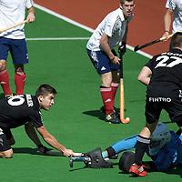MELBOURNE - Champions Trophy men 2012<br /> Belgium v England<br /> foto: 2-0 cby Cedric Charlier.<br /> FFU PRESS AGENCY COPYRIGHT FRANK UIJLENBROEK