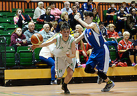 21 Aug 2016:   Moycullen, in action against Malahide.  Boys U16 Basketball final, Malahide, Dublin v Moycullen, Galway. 2016 Community Games National Festival 2016.  Athlone Institute of Technology, Athlone, Co. Westmeath. Picture: Caroline Quinn