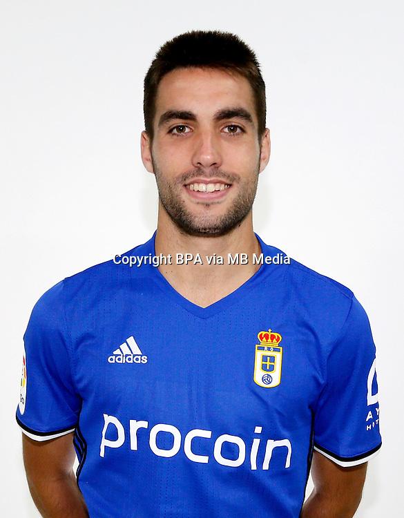 Spain - La Liga B 123 _ 2016-2017 / <br /> ( Real Oviedo ) - <br /> Diego Johannesson Pando &quot; Diegui Johannesson &quot;