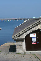 Boathouse and slip for local lifeboat, Dun Laoghaire, County, Dublin
