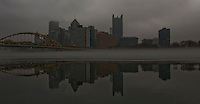 Pittsburgh as seen from the North Shore.