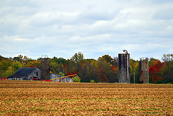 24 October 2017:  Rustic Barns and silos.<br /> <br />  Parke County Indiana is the site of the Indiana Covered Bridge Festival every October