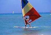 Windsurfer, Kailua, Oahu, Hawaii