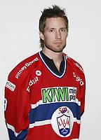 Ishockey   Get - ligaen 26 september  2007  , <br /> <br /> Portretter , Lillehammer Ishockeyklubb<br /> <br /> <br /> <br /> Foto: Dagfinn Limoseth, Digitalsport <br /> <br /> <br /> <br /> Stefan Sjödin