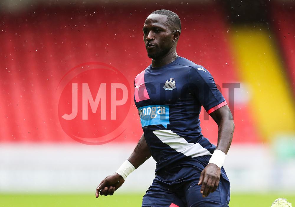 Moussa Sissoko of Newcastle United - Mandatory by-line: Matt McNulty/JMP - 26/07/2015 - SPORT - FOOTBALL - Sheffield,England - Bramall Lane - Sheffield United v Newcastle United - Pre-Season Friendly