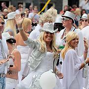NLD/Amsterdam/20110806 - Canalpride Gaypride 2011, Marga Scheide