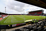 Grimsby Town Blundell Park stadium before the EFL Sky Bet League 2 match between Grimsby Town FC and Crewe Alexandra at Blundell Park, Grimsby, United Kingdom on 4 May 2019.