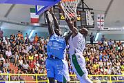 Ousmane Diop<br /> Banco di Sardegna Dinamo Sassari - CSP Limoges<br /> 8° International Tournament City of Cagliari Finale<br /> Cagliari, 16/09/2018<br /> Foto L.Canu / Ciamillo-Castoria