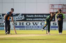 SJ Mullaney of Notts Outlaws (C) in action - Mandatory by-line: Jack Phillips/JMP - 24/06/2016 - CRICKET - The 3aaa County Ground - Derby, United Kingdom - Derbyshire Falcons v Notts Outlaws - Natwest T20 Blast