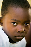 Portrait of an orphan in Dar es Salaam, Tanzania.