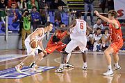 DESCRIZIONE : Roma Campionato Lega A 2013-14 Acea Virtus Roma EA7 Emporio Armani Milano <br /> GIOCATORE : Jimmy Baron Bobby Jones<br /> CATEGORIA : Controcampo Palleggio Blocco Marketing Beko<br /> SQUADRA : Acea Virtus Roma<br /> EVENTO : Campionato Lega A 2013-2014<br /> GARA : Acea Virtus Roma EA7 Emporio Armani Milano <br /> DATA : 02/12/2013<br /> SPORT : Pallacanestro<br /> AUTORE : Agenzia Ciamillo-Castoria/GiulioCiamillo<br /> Galleria : Lega Basket A 2013-2014<br /> Fotonotizia : Roma Campionato Lega A 2013-14 Acea Virtus Roma EA7 Emporio Armani Milano <br /> Predefinita :