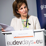 20160615 - Brussels , Belgium - 2016 June 15th - European Development Days - The people's peace - Time to think urban - Shada Islam , Director of Policy , Friends of Europe © European Union