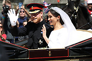 &copy; Copyright 2018 by Stefan Reimschuessel. <br /> All Rights Reserved.<br /> stefan@reimsphotography.com<br /> http://reimsphotography.com/<br /> 19/05/2018<br /> Royal Wedding of Prince Harry The Duke of Sussex and Meghan Markle The Duchess of Sussex at Windsor Castle.