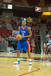02 December 2006: Jermaine Griffin. In a non-conference game, the Mavericks of University of Texas at Arlington lost to the Redbirds home 86-61. The win was the 5th in a row for the Redbirds, the longest winning streak in 6 years. the game was played at Redbird Arena in Normal Illinois on the campus of Illinois State University.<br />