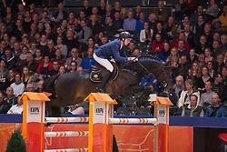 Snels Zoi, (NED), Starpower<br /> VHO Trofee springen<br /> KWPN Hengstenkeuring - 's Hertogenbosch 2016<br /> © Hippo Foto - Dirk Caremans<br /> 04/02/16