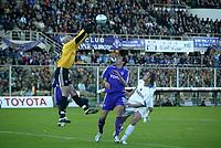 Firenze 07-11-2004<br />Campionato  Serie A Tim 2004-2005<br />Fiorentina Inter<br />nella  foto parata di Lupatelli<br />Foto Snapshot / Graffiti