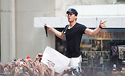 """NEW YORK - JULY 16:  Singer Enrique Iglesias performs on NBC's """"Today"""" at Rockefeller Center on July 16, 2010 in New York City.  (Photo by Joe Kohen/WireImage)"""