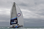 NEW ZEALAND, Auckland, 19th March 2010, TEAMORIGIN TP52, first sail.