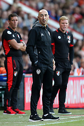Manager of Valencia Pako Ayestaran and Manager of Bournemouth, Eddie Howe - Mandatory by-line: Robbie Stephenson/JMP - 03/08/2016 - FOOTBALL - Vitality Stadium - Bournemouth, England - AFC Bournemouth v Valencia - Pre-season friendly