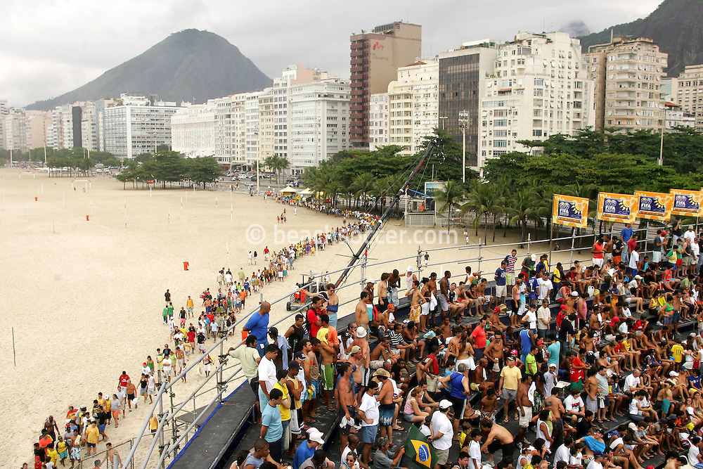 Football-FIFA Beach Soccer World Cup 2006 - Group A-Brasil - Poland, Beachsoccer World Cup 2006. - Rio de Janeiro - Brazil 03/11/2006 <br /> Mandatory credit: FIFA/ Manuel Queimadelos
