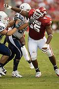 Arkansas Razorbacks vs Utah State Aggies on September 8, 2006.at Reynolds Stadiums in Fayetteville, Arkansas.  Razorbacks won 20 to 0.University of Arkansas Razorback 2006 Football team....©Wesley Hitt.All Rights Reserved.501-258-0920.