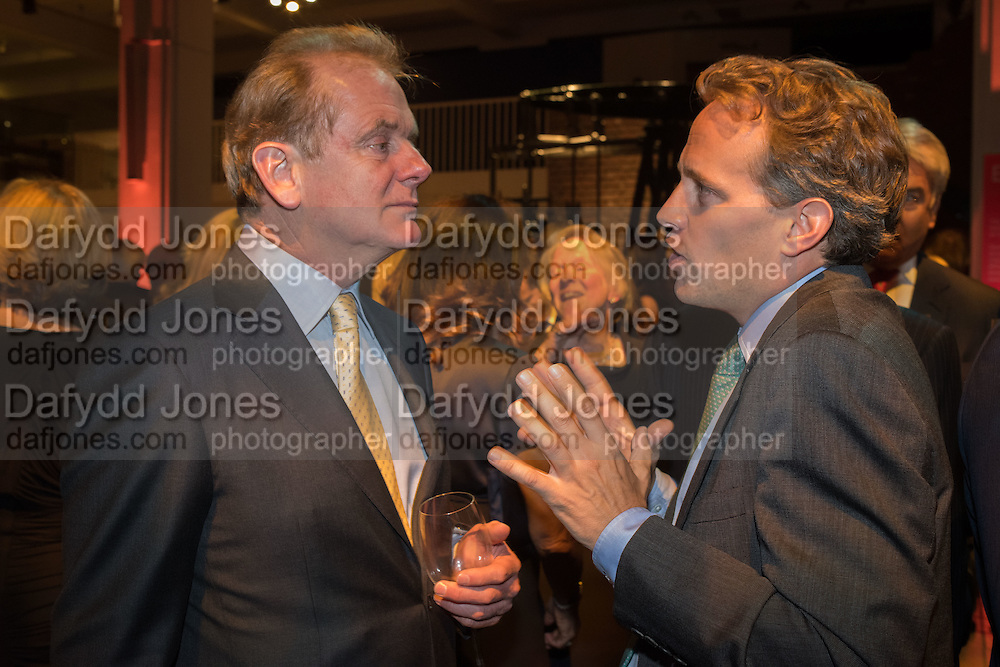 JONATHAN PALMER; CAMERON OGDEN, Action Against Cancer 'A Voyage of Discovery' fundraising dinner at the Science Museum on Wednesday 14 October 2015.