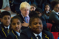 2015-06-23 Mayor Boris Johnson visits Wembley's Michaela Community School