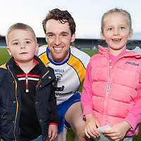 Clare's Shane Brennan with Emma and Sean Donnelly from Ennis