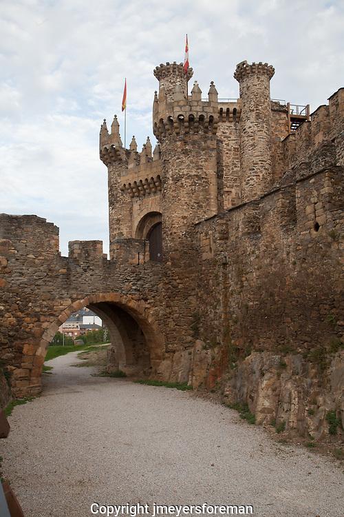 Knights Templar Ponferrada Spain
