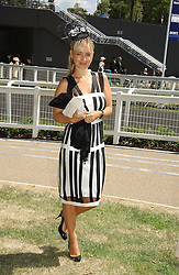 LOUISE REDNAPP at the 3rd day - Ladies Day of Roayl Ascot 2006 on 22nd June 2006.<br />
