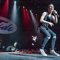 The Tide in concert at The SSE Hydro, Glasgow, Scotland, Britain, 8th April 2016